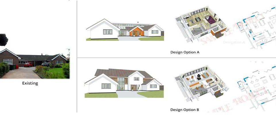 Bungalow Transformation Derby and Nottingham Architect
